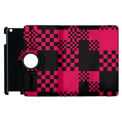 Cube Square Block Shape Creative Apple Ipad 3/4 Flip 360 Case