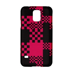 Cube Square Block Shape Creative Samsung Galaxy S5 Hardshell Case  by Simbadda