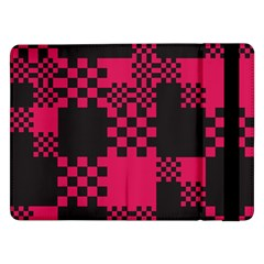 Cube Square Block Shape Creative Samsung Galaxy Tab Pro 12 2  Flip Case by Simbadda