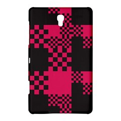Cube Square Block Shape Creative Samsung Galaxy Tab S (8 4 ) Hardshell Case  by Simbadda