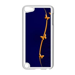 Greeting Card Invitation Blue Apple Ipod Touch 5 Case (white) by Simbadda