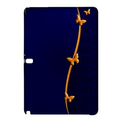 Greeting Card Invitation Blue Samsung Galaxy Tab Pro 10 1 Hardshell Case by Simbadda