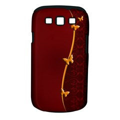 Greeting Card Invitation Red Samsung Galaxy S Iii Classic Hardshell Case (pc+silicone) by Simbadda