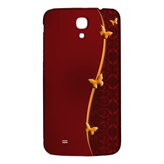 Greeting Card Invitation Red Samsung Galaxy Mega I9200 Hardshell Back Case by Simbadda