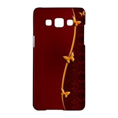 Greeting Card Invitation Red Samsung Galaxy A5 Hardshell Case