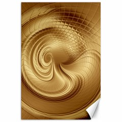 Gold Background Texture Pattern Canvas 20  X 30   by Simbadda