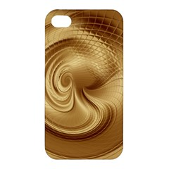 Gold Background Texture Pattern Apple Iphone 4/4s Hardshell Case by Simbadda