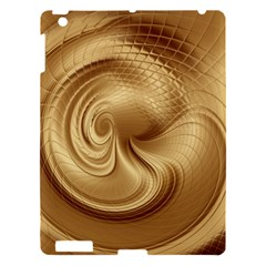 Gold Background Texture Pattern Apple Ipad 3/4 Hardshell Case by Simbadda