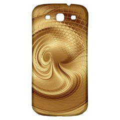 Gold Background Texture Pattern Samsung Galaxy S3 S Iii Classic Hardshell Back Case by Simbadda