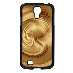 Gold Background Texture Pattern Samsung Galaxy S4 I9500/ I9505 Case (black) by Simbadda