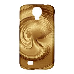 Gold Background Texture Pattern Samsung Galaxy S4 Classic Hardshell Case (pc+silicone) by Simbadda
