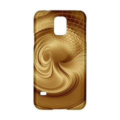 Gold Background Texture Pattern Samsung Galaxy S5 Hardshell Case  by Simbadda