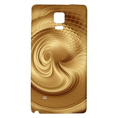 Gold Background Texture Pattern Galaxy Note 4 Back Case by Simbadda