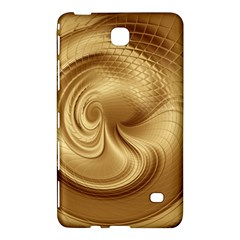 Gold Background Texture Pattern Samsung Galaxy Tab 4 (8 ) Hardshell Case  by Simbadda