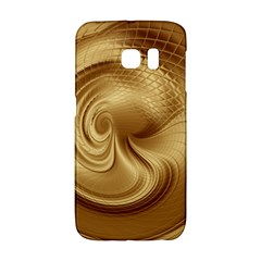 Gold Background Texture Pattern Galaxy S6 Edge by Simbadda