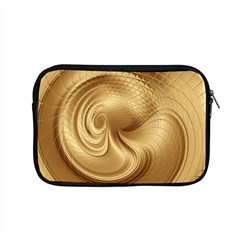 Gold Background Texture Pattern Apple Macbook Pro 15  Zipper Case by Simbadda
