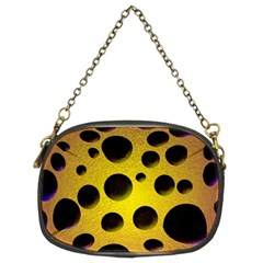 Background Design Random Balls Chain Purses (two Sides)  by Simbadda