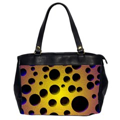 Background Design Random Balls Office Handbags (2 Sides)  by Simbadda