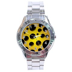 Background Design Random Balls Stainless Steel Analogue Watch by Simbadda