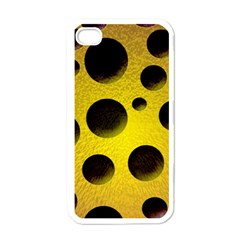 Background Design Random Balls Apple Iphone 4 Case (white) by Simbadda