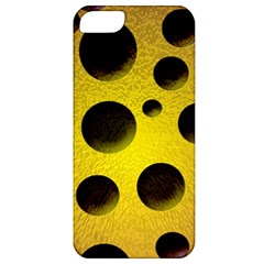 Background Design Random Balls Apple Iphone 5 Classic Hardshell Case by Simbadda