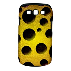 Background Design Random Balls Samsung Galaxy S Iii Classic Hardshell Case (pc+silicone) by Simbadda
