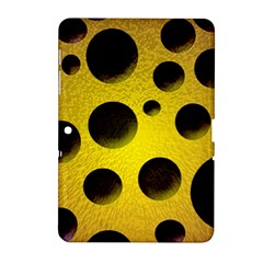 Background Design Random Balls Samsung Galaxy Tab 2 (10 1 ) P5100 Hardshell Case  by Simbadda