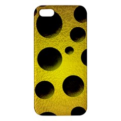 Background Design Random Balls Iphone 5s/ Se Premium Hardshell Case by Simbadda