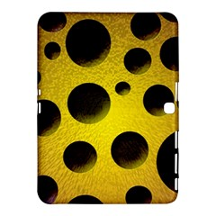 Background Design Random Balls Samsung Galaxy Tab 4 (10 1 ) Hardshell Case  by Simbadda