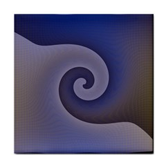 Logo Wave Design Abstract Tile Coasters by Simbadda