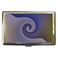 Logo Wave Design Abstract Cigarette Money Cases by Simbadda
