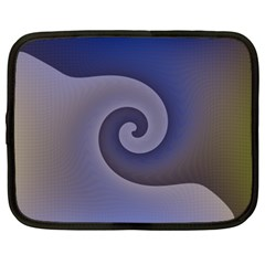Logo Wave Design Abstract Netbook Case (xxl)  by Simbadda