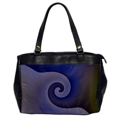 Logo Wave Design Abstract Office Handbags by Simbadda