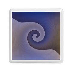 Logo Wave Design Abstract Memory Card Reader (square)