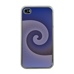 Logo Wave Design Abstract Apple Iphone 4 Case (clear) by Simbadda