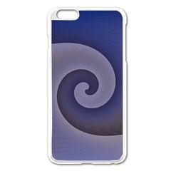 Logo Wave Design Abstract Apple Iphone 6 Plus/6s Plus Enamel White Case by Simbadda