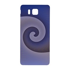 Logo Wave Design Abstract Samsung Galaxy Alpha Hardshell Back Case by Simbadda