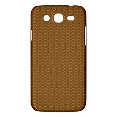 Pattern Honeycomb Pattern Brown Samsung Galaxy Mega 5 8 I9152 Hardshell Case