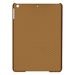 Pattern Honeycomb Pattern Brown Ipad Air Hardshell Cases by Simbadda