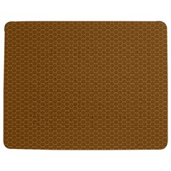 Pattern Honeycomb Pattern Brown Jigsaw Puzzle Photo Stand (rectangular) by Simbadda