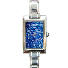 Lines Geometry Architecture Texture Rectangle Italian Charm Watch by Simbadda