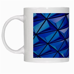Lines Geometry Architecture Texture White Mugs by Simbadda