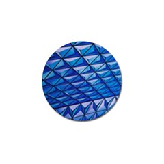 Lines Geometry Architecture Texture Golf Ball Marker (4 Pack) by Simbadda