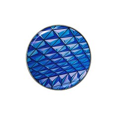 Lines Geometry Architecture Texture Hat Clip Ball Marker (4 Pack) by Simbadda