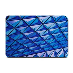 Lines Geometry Architecture Texture Small Doormat  by Simbadda