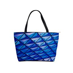Lines Geometry Architecture Texture Shoulder Handbags by Simbadda