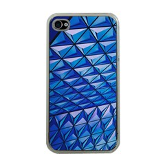 Lines Geometry Architecture Texture Apple Iphone 4 Case (clear) by Simbadda