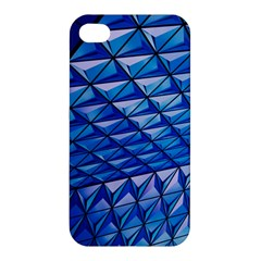 Lines Geometry Architecture Texture Apple Iphone 4/4s Hardshell Case by Simbadda