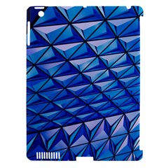 Lines Geometry Architecture Texture Apple Ipad 3/4 Hardshell Case (compatible With Smart Cover) by Simbadda