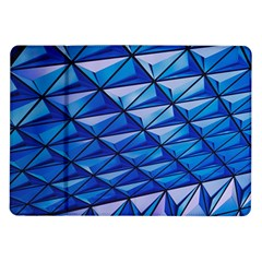 Lines Geometry Architecture Texture Samsung Galaxy Tab 10 1  P7500 Flip Case by Simbadda